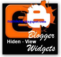 Hiển thị Widget ở những trang nhất định trong Blogspot